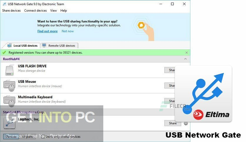 USB Network Gate 2020 Free Download PcHippo