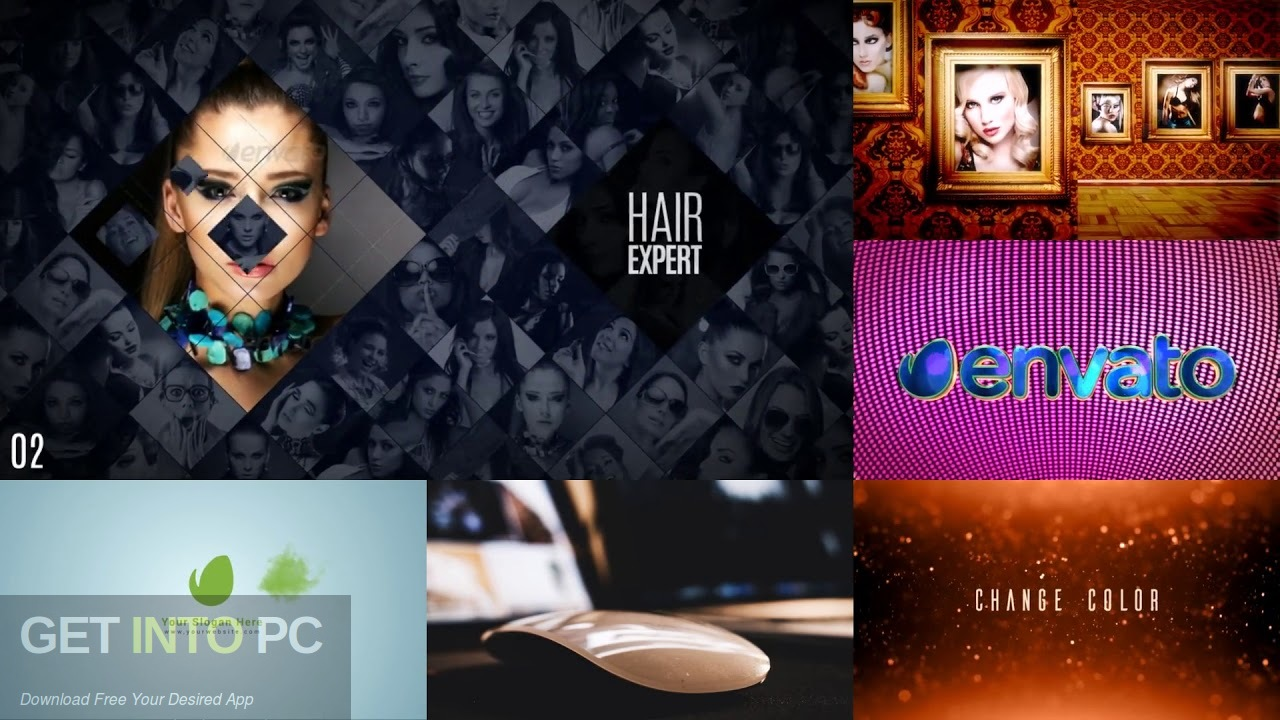 VideoHive - Multi Screen Minimal Openers Direct Link Download