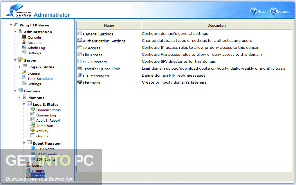 Wing FTP Server Corporate 2020 Direct Link Download