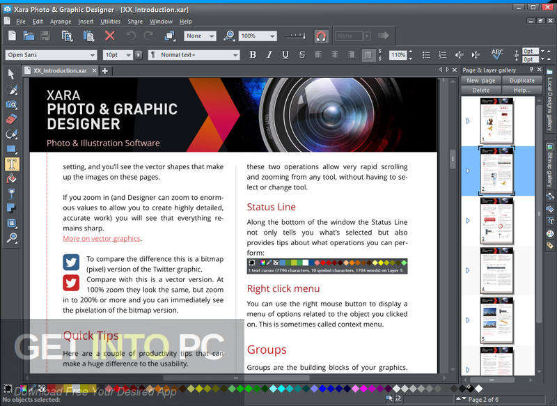 Xara Photo & Graphic Designer 2021 Free Download PcHippo