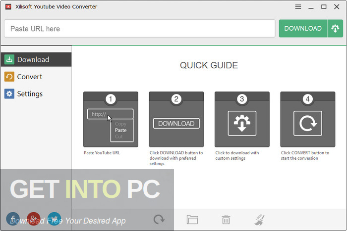 Xilisoft YouTube Video Converter Free Download-GetintoPC.com